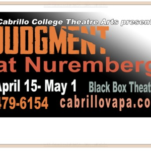 Judgment at Nuremberg plans