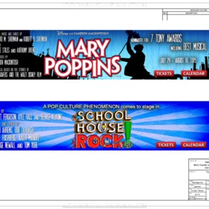 Mary Poppins and SH Rock CAD drawings