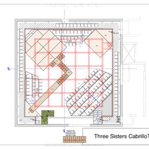 three sisters CAD plans