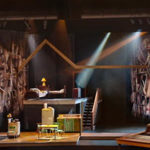 Death of a Salesman Set design