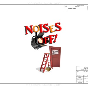 Noises Off CAD drawings